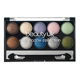 BEAUTY UK Eyeshadow Palette No.1 Pastels - 10-es SZEMFESTÉK PALETTA