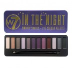 W7 COSMETICS In The Night Palette - 12-es SZEMFESTÉK PALETTA