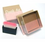 W7 Double Act Bronzer And Highlighter Powder - MATT BRONZER ÉS HIGHLIGHTER DOBOZBAN ECSETTEL