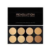 MAKEUP REVOLUTION Ultra Cover and Concealer Palette Light - KORREKTOR PALETTA KRÉM TEXTÚRÁVAL