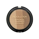 MAKEUP REVOLUTION Ultra Bronze, Shimmer and Highlight - BRONZER HIGHLIGHTER PALETTA