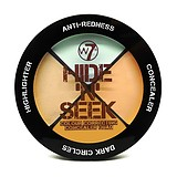 W7 Hide & Seek ANTI RED - KORREKTOR PALETTA