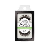 AURA Power Lashes False Eyelashes 07 Nubian Queen - SOROS MŰSZEMPILLA 100% NATURAL