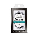 AURA Power Lashes False Eyelashes 10 Slightly Nightly - SOROS MŰSZEMPILLA 100% NATURAL