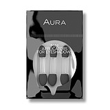 AURA Mini Applicators For Eye Shadows - APPLIKÁTOR 3 db/csomag