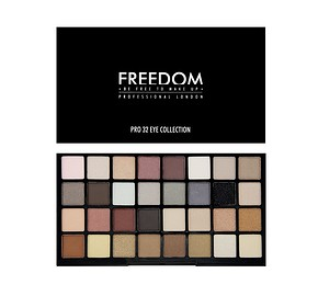 FREEDOM MAKEUP Pro 32 Innocent Collection - SZEMFESTÉK PALETTA