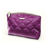 BH COSMETICS Grape Quilted Bag - ELEGÁNS NESZESZER 22x13 cm