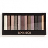 MAKEUP REVOLUTION Eye Shadow palette Romantic Smoked - SZEMFESTÉK PALETTA