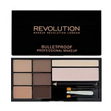 MAKEUP REVOLUTION Ultra Brow palette Fair to Medium - SZEMÖLDÖK FORMÁZÓ PALETTA