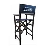 MAKEUP CHAIR MOBIL with LOGO seat height 79 cm