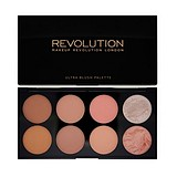 MAKEUP REVOLUTION Ultra Blush Palette Hot Spice - ARCPIROSÍTÓ ÉS HIGHLIGHTER PALETTA