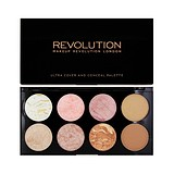 MAKEUP REVOLUTION Blush & Contour Palette Golden Sugar - PALETA KONTURE I RUMENILA