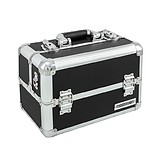 ANNDORA Makeup Case Black/Silver
