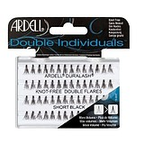 ARDELL Double Individual Knot Free Double Flare Short Black