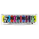 W7 Neon Nights Electric Eye Palette - 12-es NEON SZEMFESTÉK PALETTA