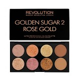 MAKEUP REVOLUTION Ultra Blush Palette Golden Sugar 2 - ARCPIROSÍTÓ PALETTA