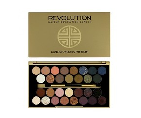 MAKEUP REVOLUTION Fortune Favours The Brave Eyeshadow Palette - SZEMFESTÉK PALETTA