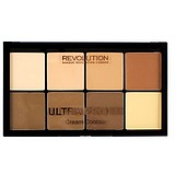 MAKEUP REVOLUTION HD Pro Cream Contour Palette Light Medium - HD KRÉM TEXTÚRÁJÚ KONTÚROZÓ PALETTA