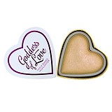 MAKEUP REVOLUTION I Love Makeup Hearts Highlighter Golden Goddess - ARCPIROSÍTÓ HIGHLIGHTER
