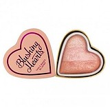 I HEART MAKEUP I Love MAKEUP Blushing Hearts Blusher Peachy Pink Kisses - ARCPIROSÍTÓ HIGHLIGHTER