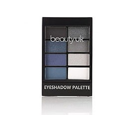 BEAUTY UK Eyeshadow Palette No.06 After Dark - SZEMFESTÉK PALETTA