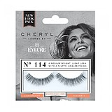 EYLURE Lengthening False Lashes 114 Cheryl + ADHESIVE