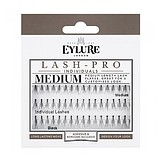 EYLURE Lash-Pro Individuals Knotted Medium False Lashes + RAGASZTÓ ÉS LEMOSÓ
