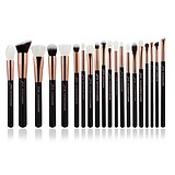 JESSUP 20 pcs Brush Set Rose Gold/Black T165 - FÉLPROFI SMINKECSET KÉSZLET ARCA SZEMRE