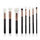 JESSUP 8 pcs Brush Set Rose Gold/Black T158 - FÉLPROFI SMINKECSET KÉSZLET ARCA SZEMRE
