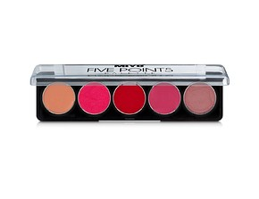 MIYO Five Points Contour Lip Palette It Girls 01 - RÚZSPALETTA