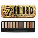 W7 COSMETICS Goldibox Eye Colour Palette - 12 ÁRNYALATOS SZEMFESTÉK PALETTA