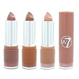 W7 Fashion Lipstick The Nudes - NUDE ÁRNYALATÚ RÚZSOK