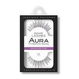 AURA Power Lashes False Eyelashes 11 Backstage Star - SOROS MŰSZEMPILLA 100% NATURAL