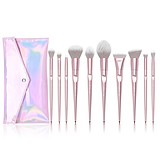 JESSUP Luxurious Light Pink Brush Set T260-CB003 - SMINKECSET KÉSZLET NESZESZERREL
