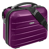 ANNDORA CHECK.IN® Beauty Case LONDON PURPLE - 33x26x16 cm KOZMETIKAI BŐRÖND