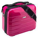 ANNDORA CHECK.IN® Beauty Case LONDON PINK - 33x26x16 cm KOZMETIKAI BŐRÖND