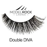 ModelRock Double Layered Lashes Double Diva - SOROS MŰSZEMPILLA 100% NATURAL