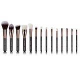 EVANA Rose Gold 14 pcs Brush Set - 14 DARABOS ECSETKÉSZLET