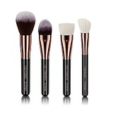 EVANA Rose Gold Face Brush Set - ECSETKÉSZLET ARCRA