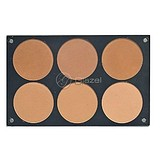 GLAZEL VISAGE Compact Powder Palette Light/Medium - KŐPÚDER PALETTA LIGHT/MEDIUM