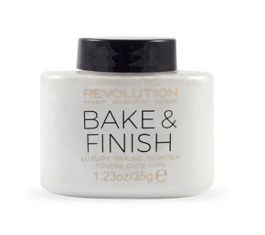 MAKEUP REVOLUTION Bake & Finish Powder - TRANSPARENT FINISH PORPÚDER
