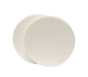 MISS DAISY Foundation and Powder Sponge White - 2 db ALAPOZÓ SZIVACS