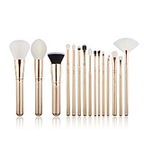 JESSUP 15 pcs Brush Set Golden/Rose Gold T404 - FÉLPROFI SMINKECSET KÉSZLET