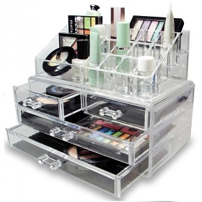 LaRoc Cosmetic Organizer With Drawers - AKRIL SMINKTÁROLÓ 4 FIÓKKAL