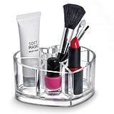 LaRoc Cosmetic Organizer Heart Shaped Lipstick Holder - SZÍV ALAKÚ AKRIL SMINKTÁROLÓ