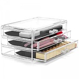 LaRoc Cosmetic Organiser Three Drawers SF-1005-1 - AKRIL SMINKTÁROLÓ