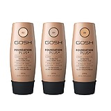 GOSH Foundation Plus Cover + Concealer Hydration Hyaluronic Acid