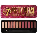 W7 COSMETICS Pretty Please Eyeshadow Palette - SZEMHÉJFESTÉK PALETTA
