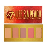 W7 COSMETICS Life's a Peach Cheek & Face Palette