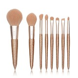 JESSUP Let It Shine 8 pcs Golden Brush Set T266